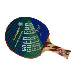 راکت پینگ پونگ گلدکاپ مدل خفاش gold cup