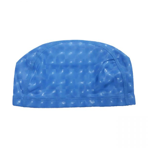 کلاه حرفه ای شنا مدل جیاجیان رنگ آبی