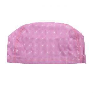 کلاه حرفه ای شنا مدل جیاجیان رنگ صورتی