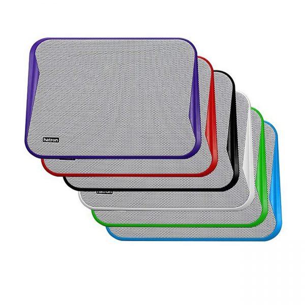 کول پد هترون مدل HCP086 رنگ های مشکی،سفید،آبی،قرمز،سبز،بنفش