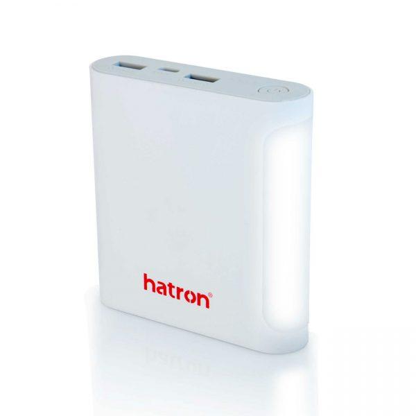 پاور بانک هترون مدل HPB10000 رنگ سفید