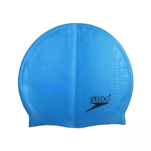 کلاه شنا حرفه ای اسپیدو مدل خاردار رنگ آبی