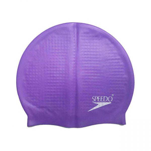کلاه شنا حرفه ای اسپیدو مدل خاردار رنگ بنفش