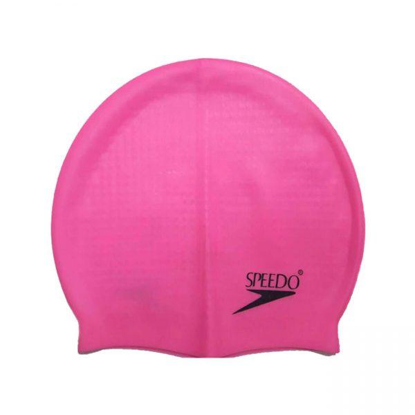 کلاه شنا حرفه ای اسپیدو مدل خاردار رنگ صورتی