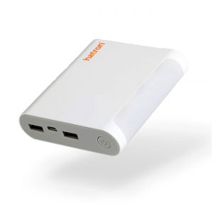 شارژر همراه هترون مدل HPB10000 رنگ سفید