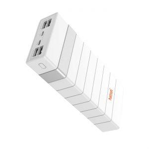 پاوربانک هترون رنگ سفید مدل HPB24000