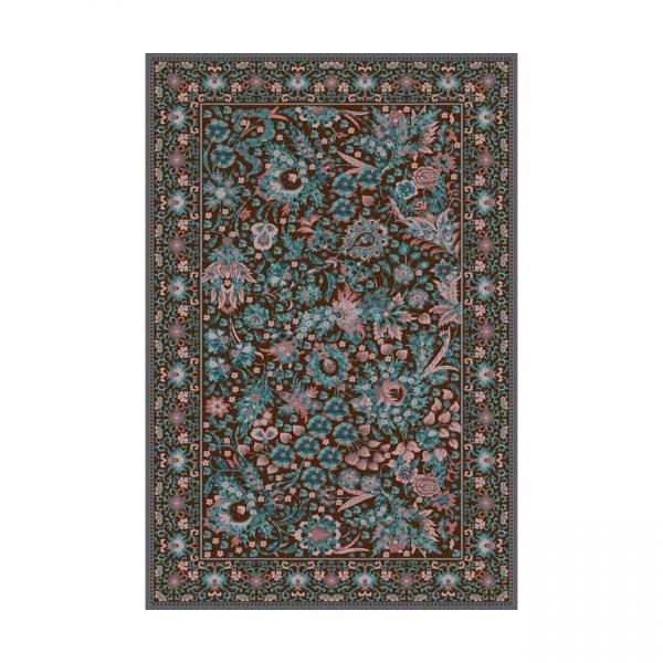 فرش ماشینی عرش طرح بهراد رنگ آبی
