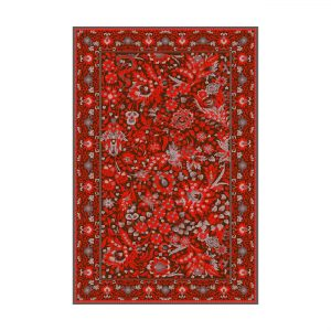 فرش ماشینی عرش طرح بهراد رنگ قرمز