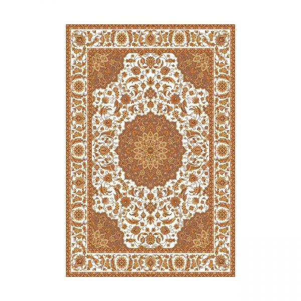 فرش ایرانی عرش کِرِم طرح اصفهان