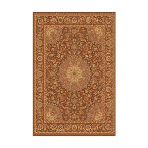 فرش ماشینی ایرانی نسکافه ای طرح اصفهان