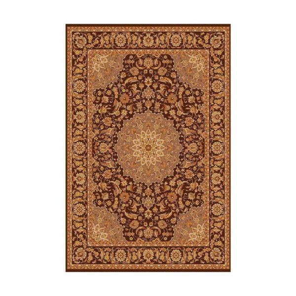 فرش ماشینی عرش فندقی طرح اصفهان